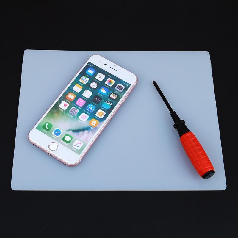 Hitzebeständige Heißluftpistole Lötstation Reparatur Isolation Pad Schreibtisch Matte Isolator Pad Wartung Plattform für Handy PC