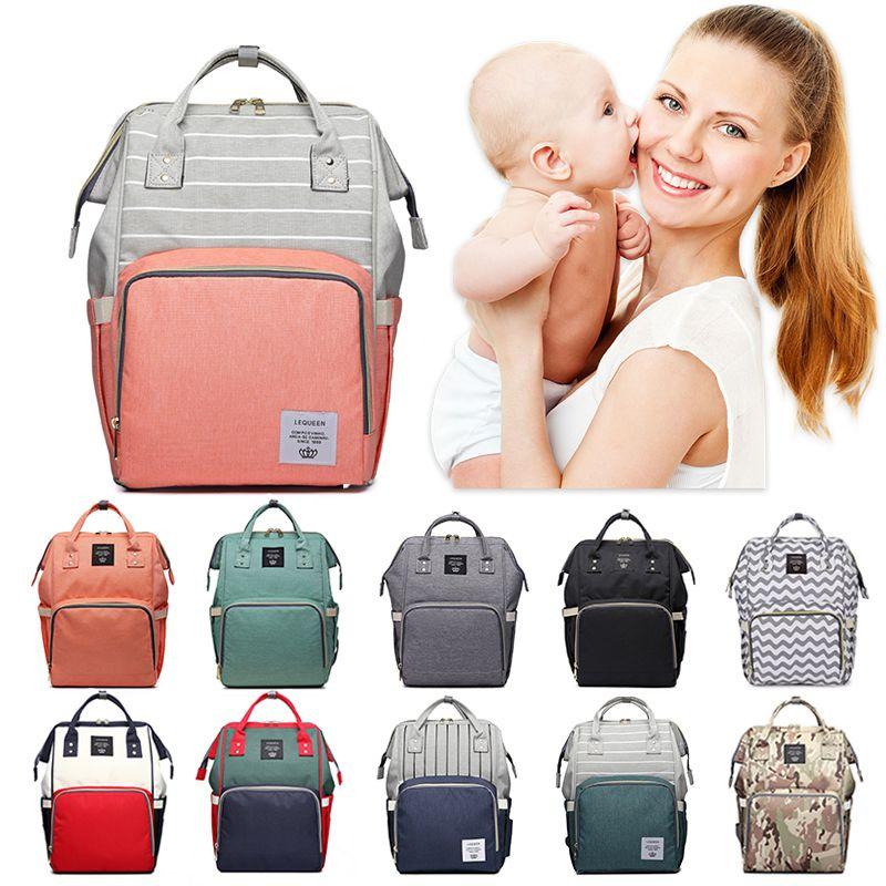 Mode maman sac à langer bébé sac momie fauteuils roulants chariot sac à dos mère sac à langer maternité bébé soin poussette Nappy sac