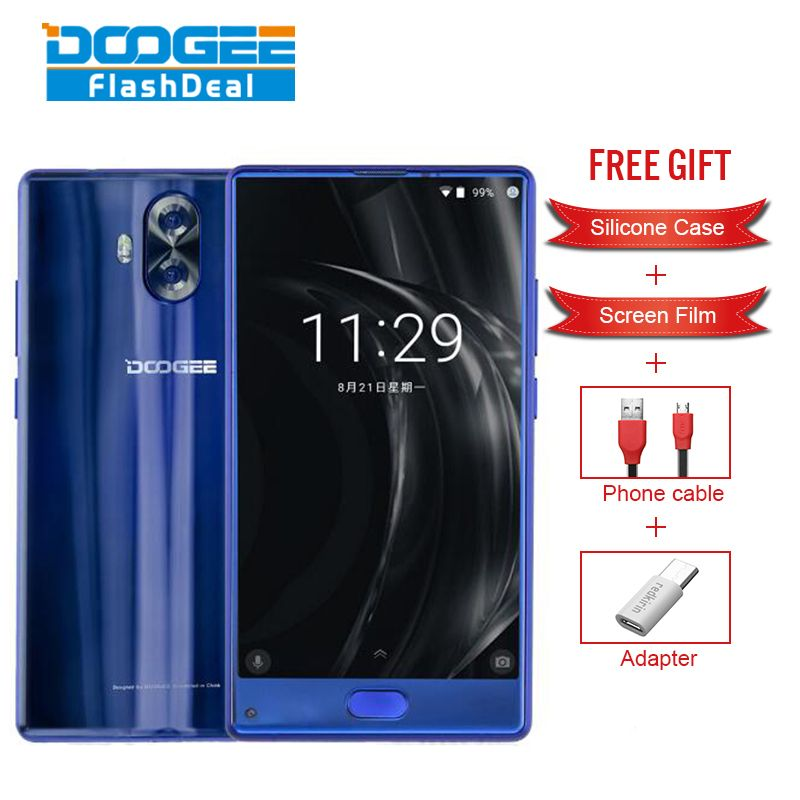 Original DOOGEE MIX Lite Smartphone 5.2 Inch Android 7.0 2GB RAM 16GB ROM MTK6737 Quad-Core 1.5GHz 4G Fingerprint mobile phone