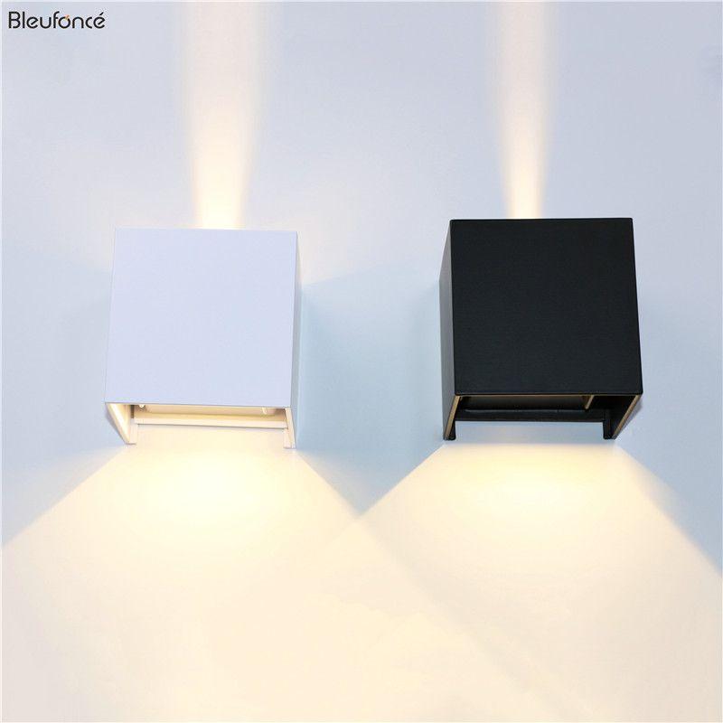 Extérieure Imperméable À L'eau IP65 Mur Lampe Moderne LED Lumière De Mur Intérieur Applique éclairage Décoratif Porche Jardin Allume les Lampes Murales BL700