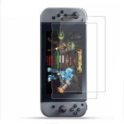 2PCS Tempered glass Ultra Clear Full HD Screen Protective Film Surface Guard for Nintend Switch NS Console Protector Cover Skin