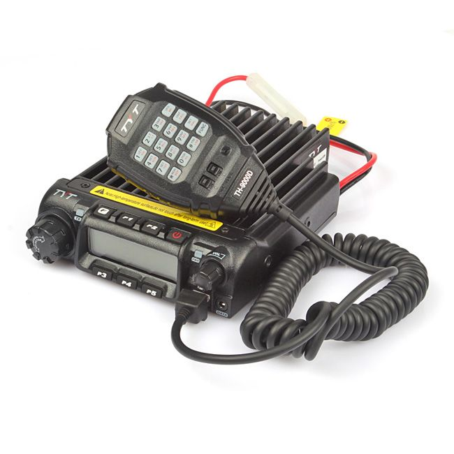 TYT TH-9000D VHF 136-174MHz 60W Mono Band Dual Display Repeater Scrambler Transceiver Car Truck Mobile Two Way Ham Radio
