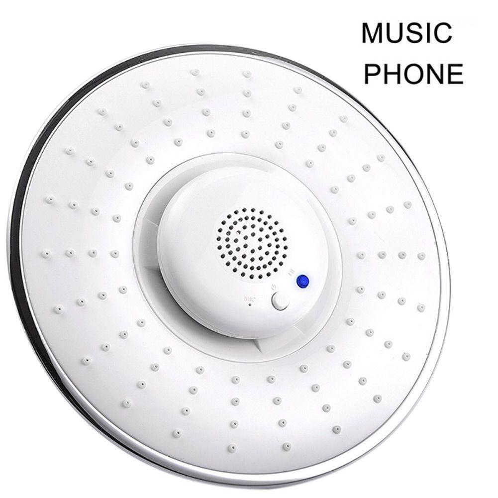 Bluetooth Беспроводной музыкальный струи дождя Showerhead Водонепроницаемый Динамик рук-свободный телефонные звонки Лидер продаж
