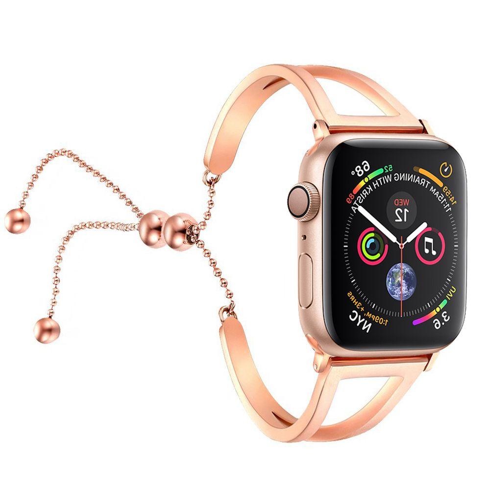 Bracelet en acier inoxydable pour apple Bracelet de montre 44mm 40mm 42mm 38mm série iwatch 4 3 2 1 Bracelet de montre horloge Bracelet ceinture