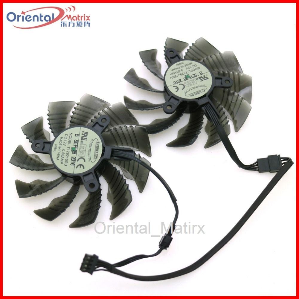 T129215SU 12 V 0.50A 86mm 4Pin VGA Fan Für Gigabyte GTX1060WF2OC N1050OC-2GD GTX1050TI 4G GTX1060 Grafikkarte Kühlung Fan