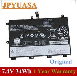 Jpyuasa 7.4 V 4600 MAh 34Wh Asli 45N1750 45N1751 Baterai Laptop untuk Lenovo ThinkPad 11E 45N1748 45N1749 Tablet
