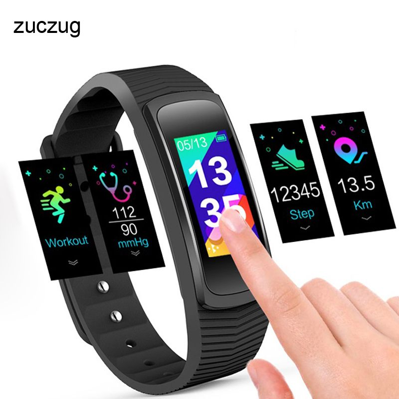 ZUCZUG A03 Smart Wristband Real-time blood pressure heart rate monitor for Water Resistant 3ATM smart Fitness Bracelet WATCH