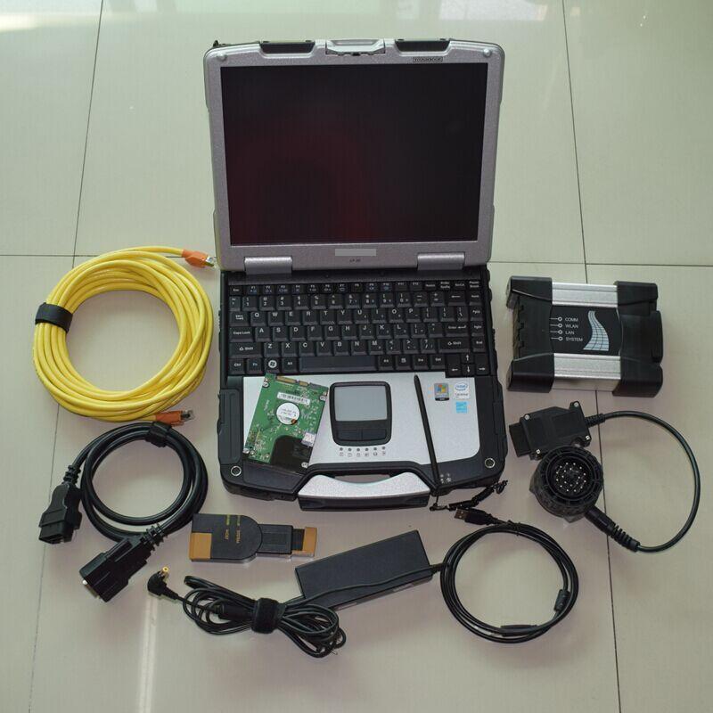 ISTA D P multi sprache Für BMW ICOM Nächsten Diagnostik & Programming Tool mit cf30 Laptop 4 gb Laptop Software v2018.12 hdd 500 gb
