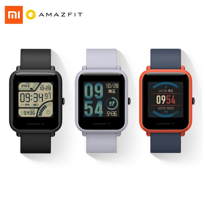 Xiaomi Amazfit Bip Smart Watch Youth Edition Lite 32g ultra-light Baro IP68 Waterproof GPS Tracker Compass Fitness for men women