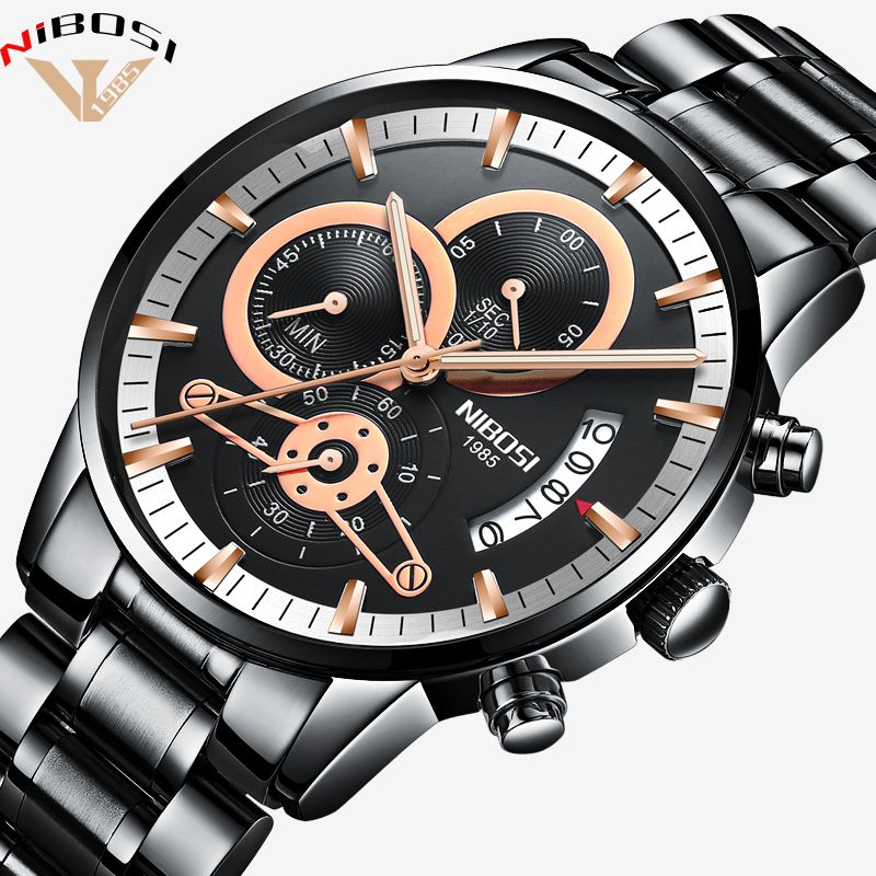 Luxus Uhren Männer Hohe Qualität Uhren Männer Luxus Marke Armbanduhren Modische Erkek Kol Saati Metall edelstahl Saat Mann