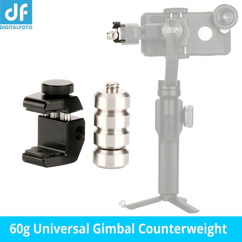 Accessories 60g Blance Plate Gimbal Counterweight Counter weight for Zhiyun Smooth 4 Q Feiyu G6 Plus Dji OSMO Anamorphic Lens