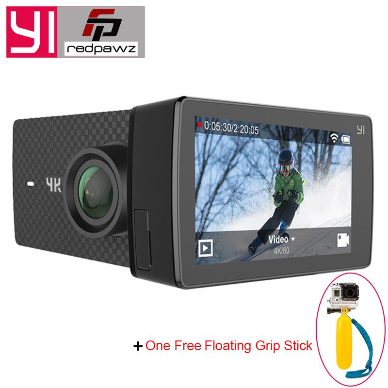 International Edition YI 4K+ Action Camera Ambarella H2 4K/60fps 12MP 155 Degree 2.19