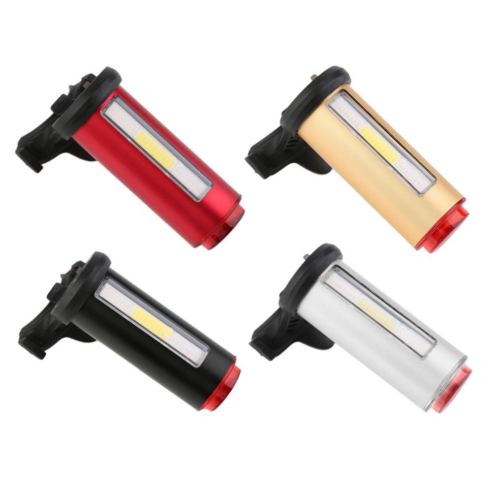 Aluminium COB Comet USB Aufladbare Radfahren Fahrrad Rücklicht Rücklicht Wasserdichte LED Sicherheit Bike Hinten Sitz Licht Lampe Fahrrad