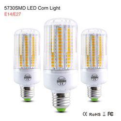 Haute lumen Lamparas SMD5730 SMD Lampada LED Lampe E14 220 V Bombillas LED Ampoule Spot Luz bougie lumière E27 Ampoule LED Lumière Ampoule