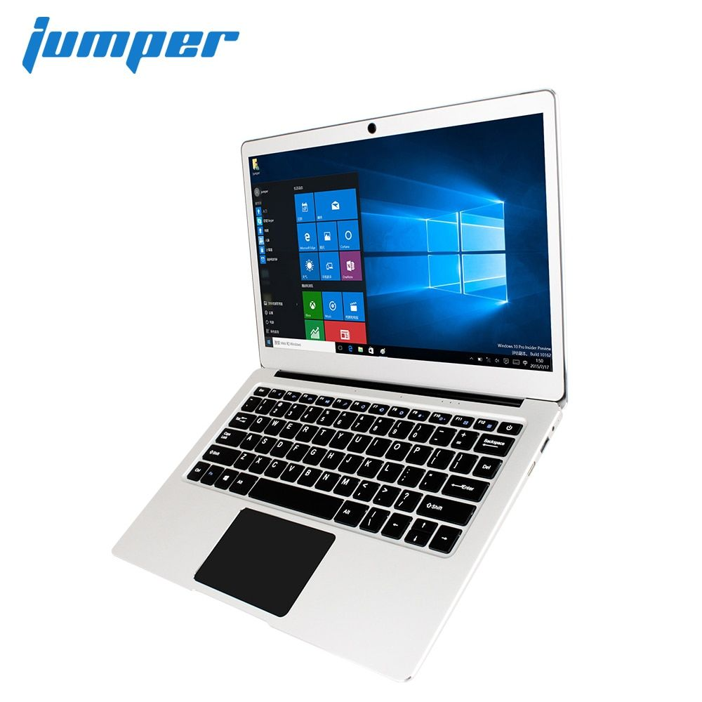 New Version! Jumper EZbook 3 Pro laptop 13.3 IPS Screen 2.4G/5G WiFi notebook with M.2 SATA SSD Slot Apollo Lake N3450 6GB <font><b>64GB</b></font>
