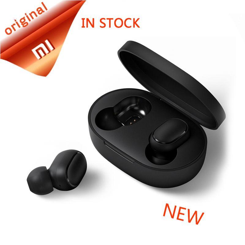 Xiao mi rouge mi AirDots bluetooth écouteur mi ni vrai mi sans fil Bluetooth 5.0 écouteurs DSP actif suppression de bruit écouteurs