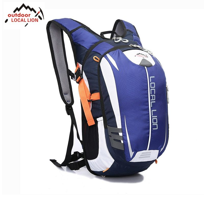 LOCAL LION Riding Backpack MTB Outdoor <font><b>Equipment</b></font> 18L Suspension Breathable Outdoor Riding Backpack Riding Bicycle Cycling Bag
