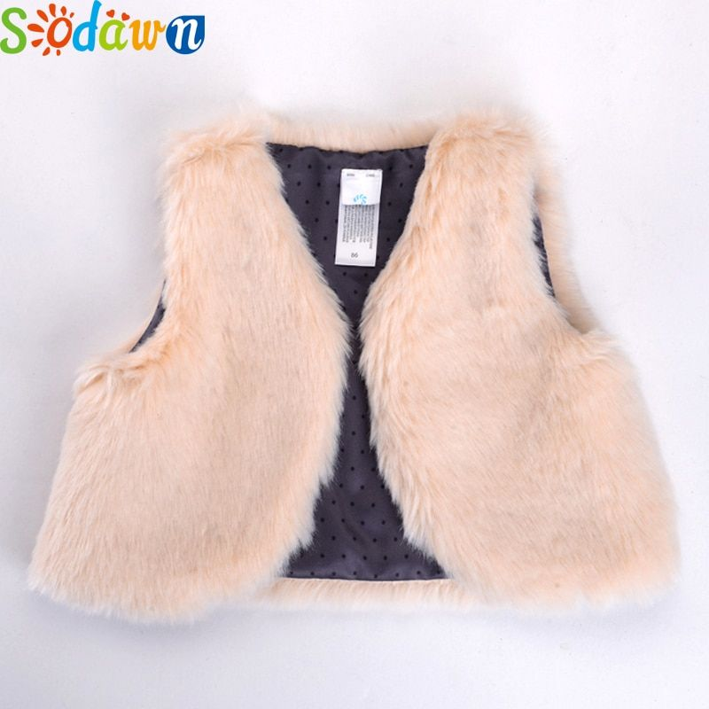 Sodawn niños diseño de moda chaleco caliente Outwear la ropa del Bebé Ropa de invierno Bebé niños chaleco barato de la buena calidad