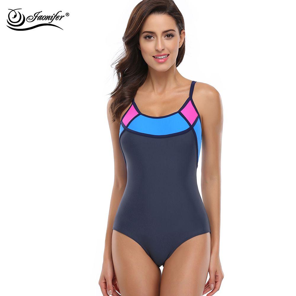 JAONIFER De Sports D'une Seule Pièce Maillot de Bain Maillots De Bain Femmes Sexy Dos Nu Body maillots De Bain maillot de bain Maillots de Bain Beachwear
