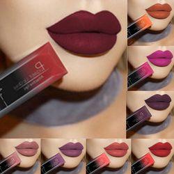 Pudaier impermeable batom Velvet Liquid Pintalabios labios rojos atractivos 21 color LIP BALM maquillaje largo duradera nude brillo lipgloss