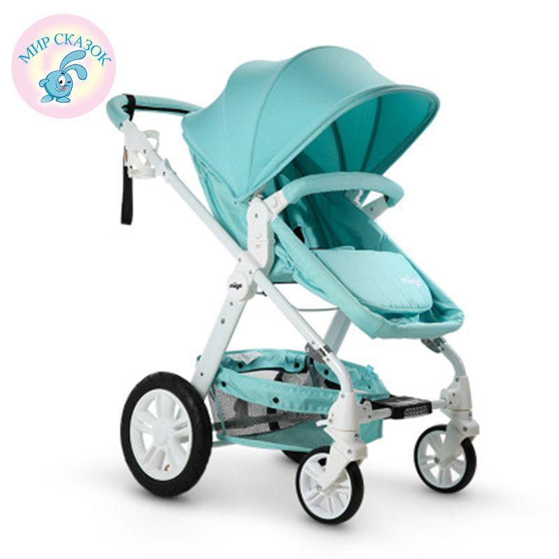 Russia free shipping stroller Baby stroller high landscape can sit or lie stroller lightweight baby stroller pneumatic wheels