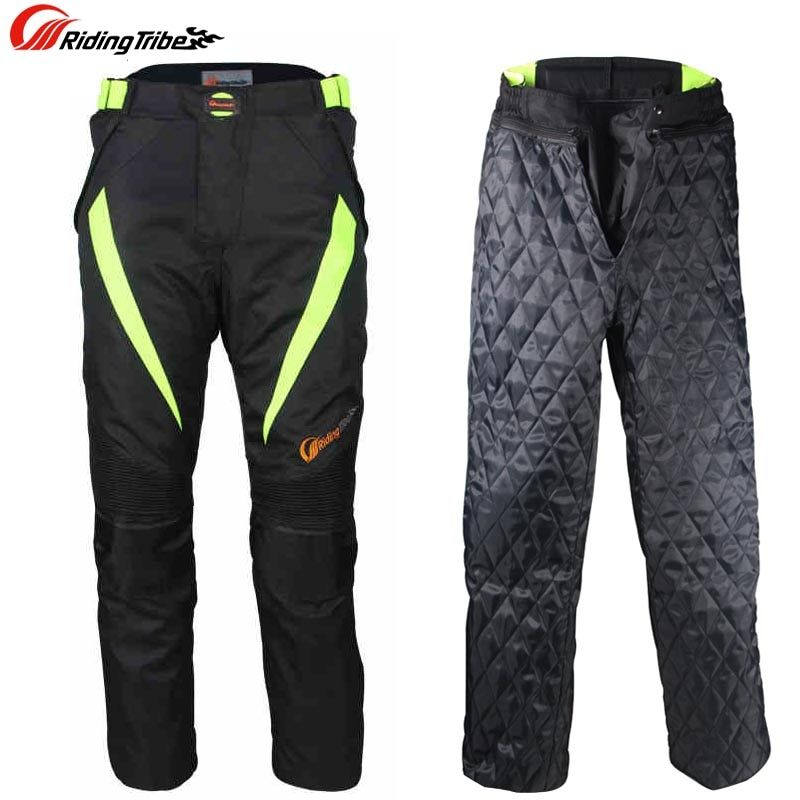 Riding Tribe Men Warm off-road Racing Pants Waterproof Motorcycle Motorbike Motocross Riding Trousers Pants Protective Gear