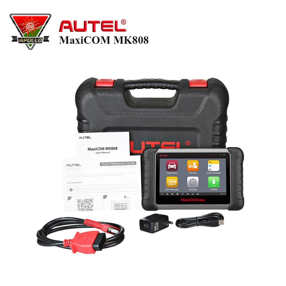 Autel OBD MaxiCOM MK808 OBD2 Diagnose Werkzeuge Teig als EU908 Scanner Automotivo Mit 1 jahre Kostenloser Update