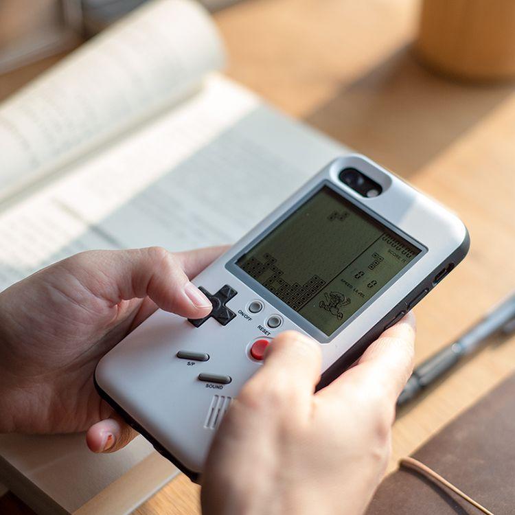 MLR GB Gameboy тетрис Телефонные Чехлы для iPhone 6 6S 7 7 плюс 8 плюс играть Blokus игровой консоли Защитная крышка подарок