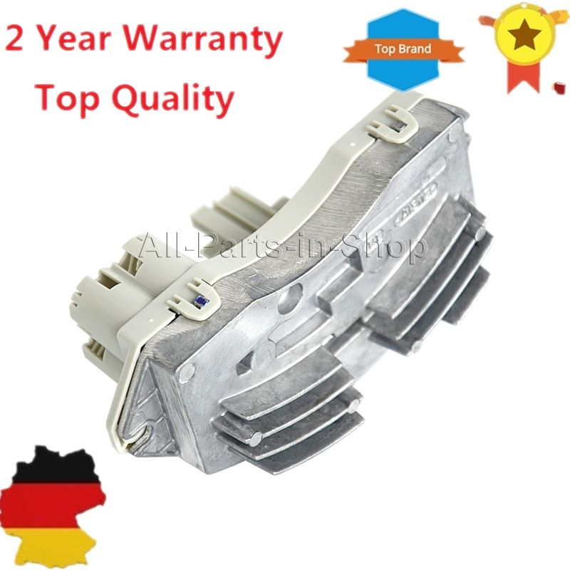A/C Fan Heater Blower Motor Resistor Regulator For Bmw 1 3 Series X1 X3 X4 X5 X6 E70 E71 E72 E81 E82 E88 E90 E91 E93 Z4 M3 335xi