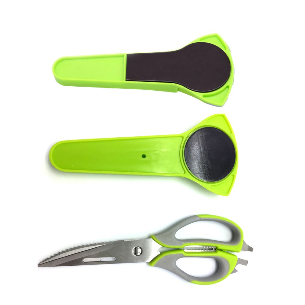 Ciseaux de cuisine couteau pour poisson poulet ménage acier inoxydable multifonction coupe cisailles livraison gratuite avec couvercle magnétique