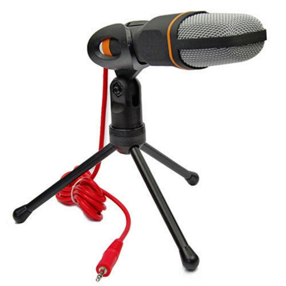 1Set 3.5mm Audio Professional Condenser Microphone Studio Sound Recording Shock Mount Hot Worldwide
