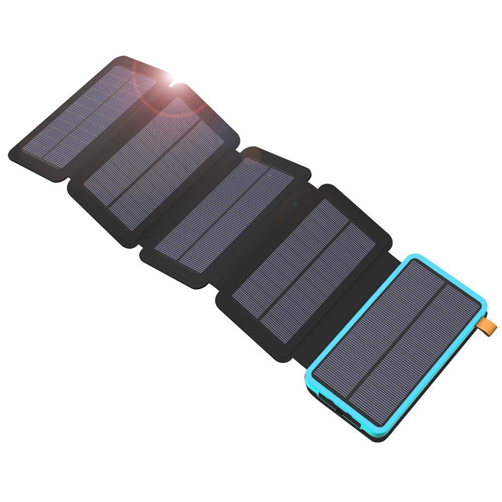 20000 mah Solar Handy-ladegerät Tragbare Solar Power Bank Wasserdichte Externe Batterie für iPhone 6 6 s 7 7 plus 8 X iPad Samsung