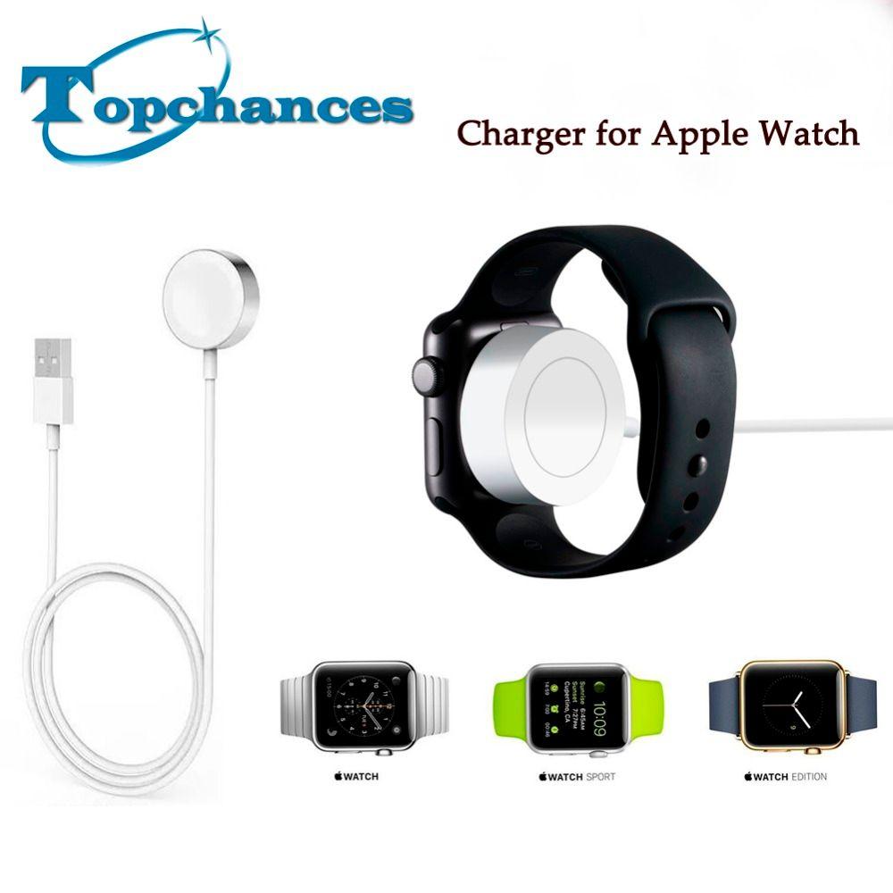 Высокое качество Зарядное устройство для Apple Watch Зарядное устройство 2 м/6.5ft Магнитный зарядный кабель Зарядное устройство для Apple Watch 2 3 1 38 мм...