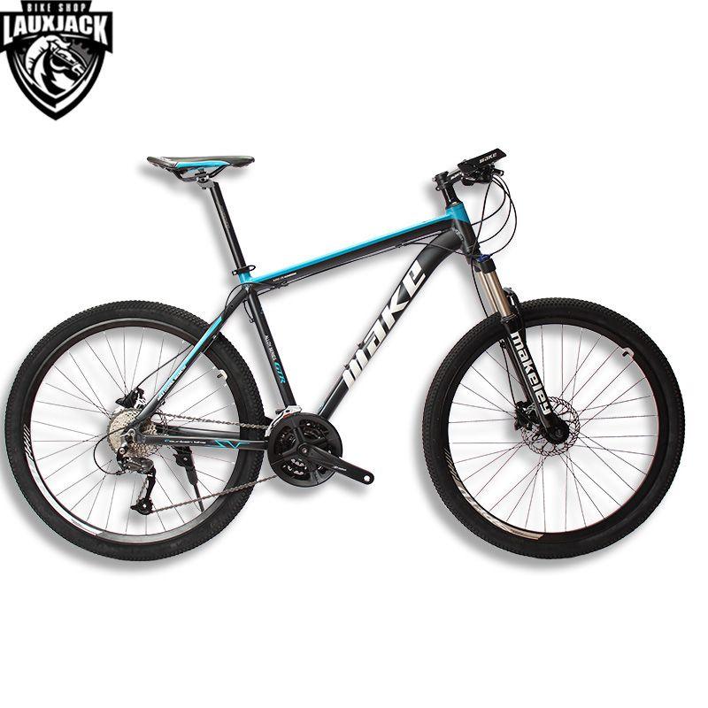 MAKE Mountain Bike Aluminum Frame 17 19 Shimano 27 Speed 26 27,5 <font><b>Wheel</b></font> Hydraulic/Mechanical Brake