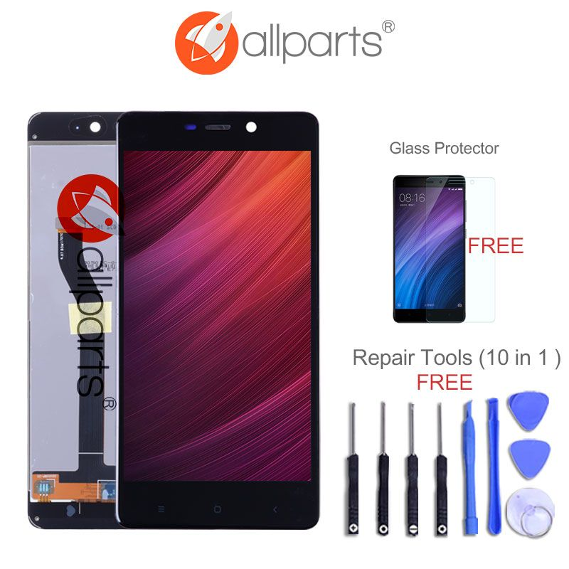 High-end Version 5.0'' LCD For XIAOMI Redmi 4 Pro LCD Display with Touch Screen with Frame For XIAOMI Redmi 4 Prime Display