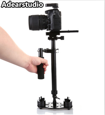 New S60 Steadycam S-60 + Plus 60cm Aluminum Handheld Stabilizer Steadicam DSLR Video Camera Photography free shipping NO00DC
