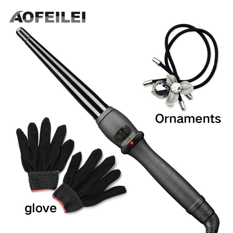 2017 nouvelle vente professionnel en céramique cheveux bigoudi fer Curling baguette rouleaux agiter style outils Styler chaleur rapide électrique bouclés