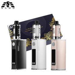 Оригинальный мини 80 Вт комплект электронных сигарет светодиодный 2200 мАч батарея жидкие электронные сигареты вейп коробка мод набор для кал...