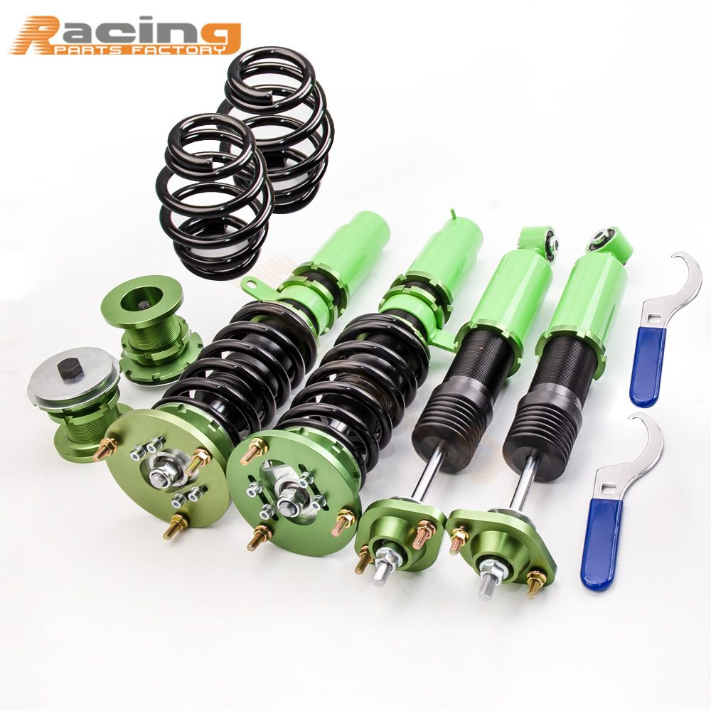 Coilover For BMW E46 3 Series Coupe Estate Saloon 98-05 Shock Absorber 320i 323i 323Ci 325Ci Height Adj. Coil Spring Camber