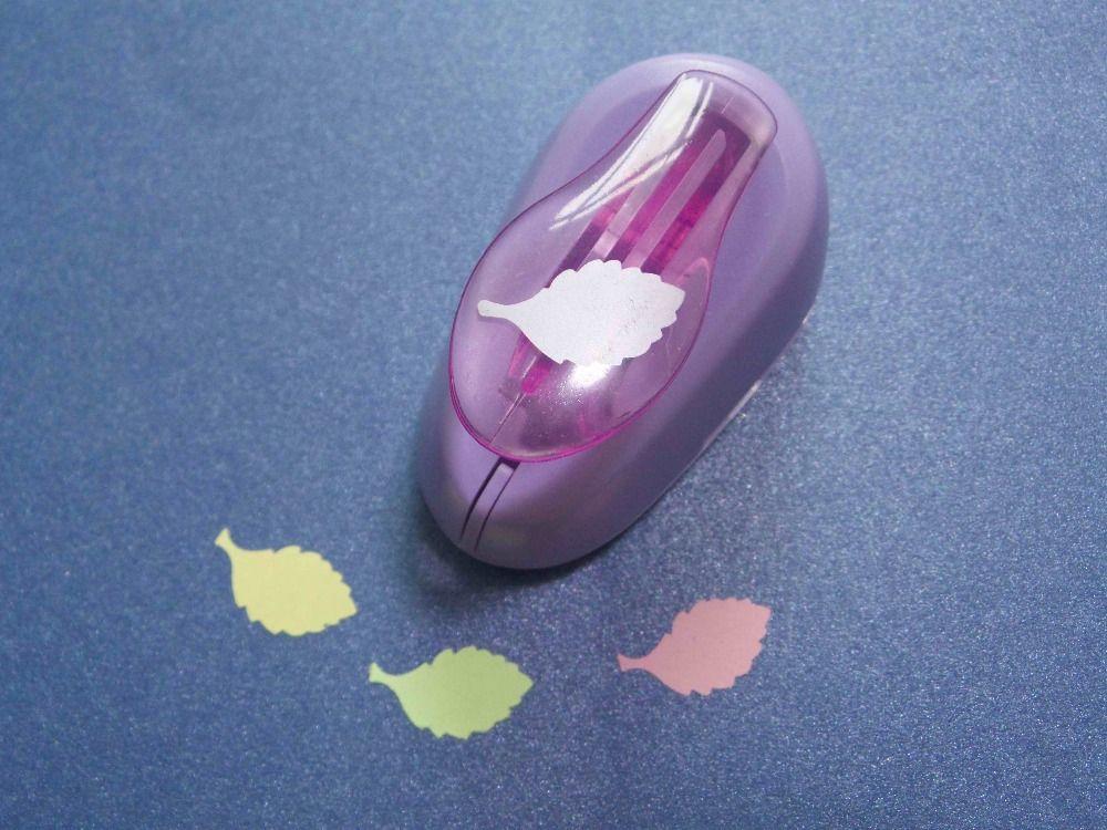 2-2.5 cm de una forma de la hoja de EVA espuma cortador del sacador sacador del arte de papel para la tarjeta de felicitación hecha a mano, libro de recuerdos diy puncher envío gratis