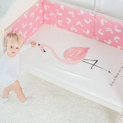 Cama de bebé Sábanas Algodón puro colchón de la cuna para niños lindo patrón de dibujos animados bebé equipado Sábanas Ropa de cama de bebé fotografía props