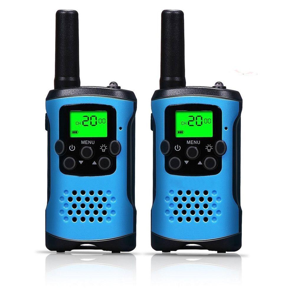 2 pièces Radio Bidirectionnelle Talkie-walkie pour Enfants pour Motorola Mini enfants en plein air auto-conduite talkie-walkie Gadget jusqu'à 6 km