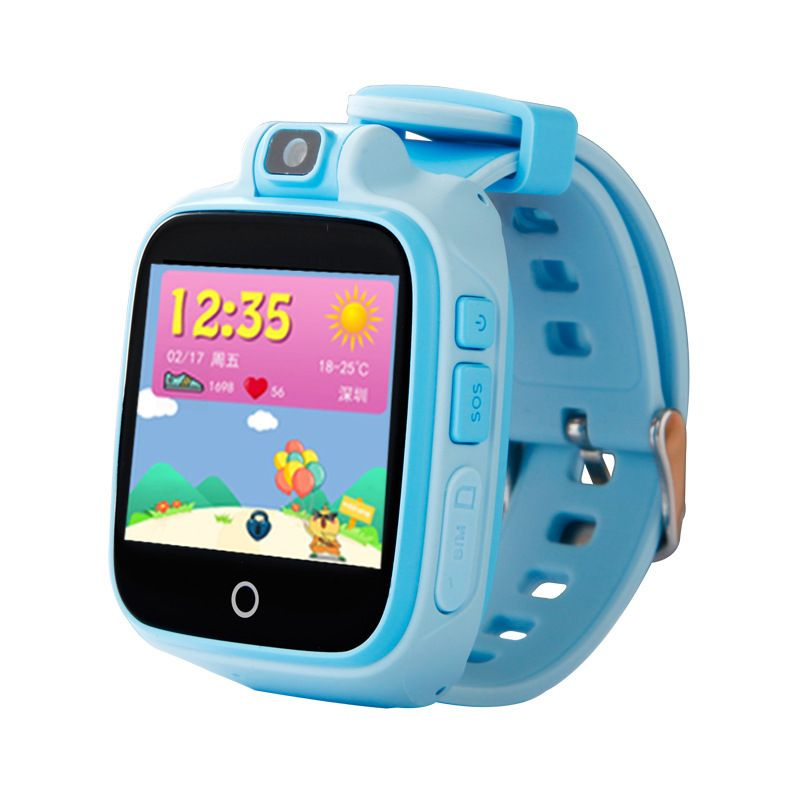 Smart Watch Child Safe Monitor GPS Tracker Kids Android IOS Waterproof Baby SOS Remote Monitor Camera SIM 4G Network Wristwatch