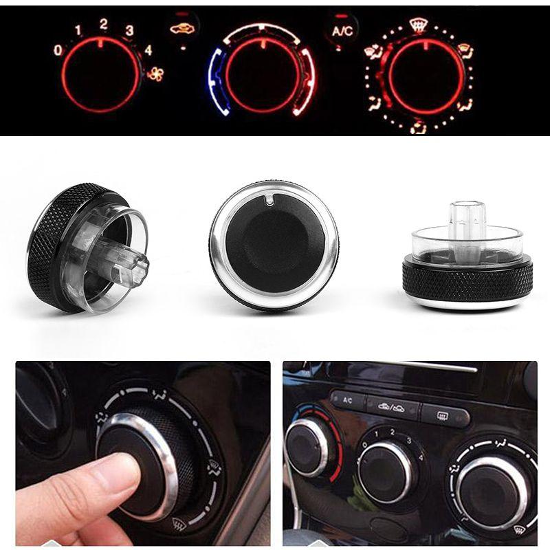 3 TEIL/LOS Auto Klimaanlage Wärmesteuerschalter Knopf für Ford Focus 2 MK2 Focus 3 MK3 Mondeo Auto AC Knob Für Focus Car Styling