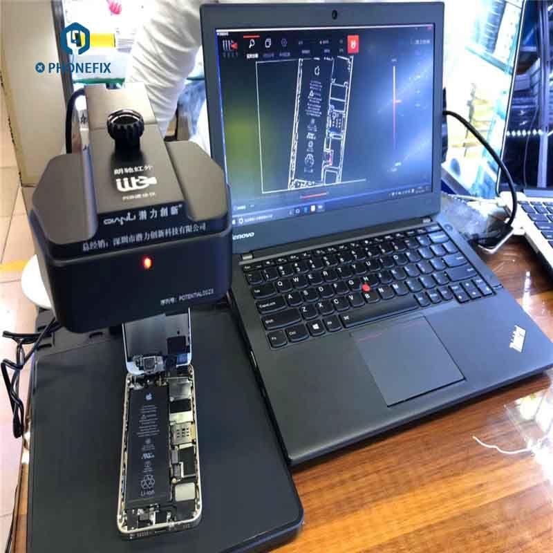 PHONEFIX Infrarot Thermische Imaging Analyzer für Geschwindigkeit Diagnose Handy PCB Motherboatd Fehler Problem Diagnose Instrument