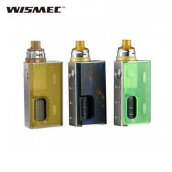 original Wismec LUXOTIC BF Squonker Kit with luxotic BF BOX Tobhino BF RDA PK geekvape athena BF kit vape electronic cigarette