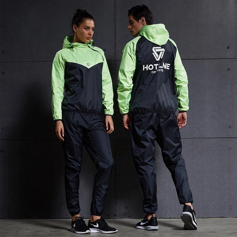 Women Men Running Sets Tracksuit Fitness Hoodies+Pants 2PCS Yoga Sets Sportswear Training Jogging Gym Hot Sweat Sport Suit
