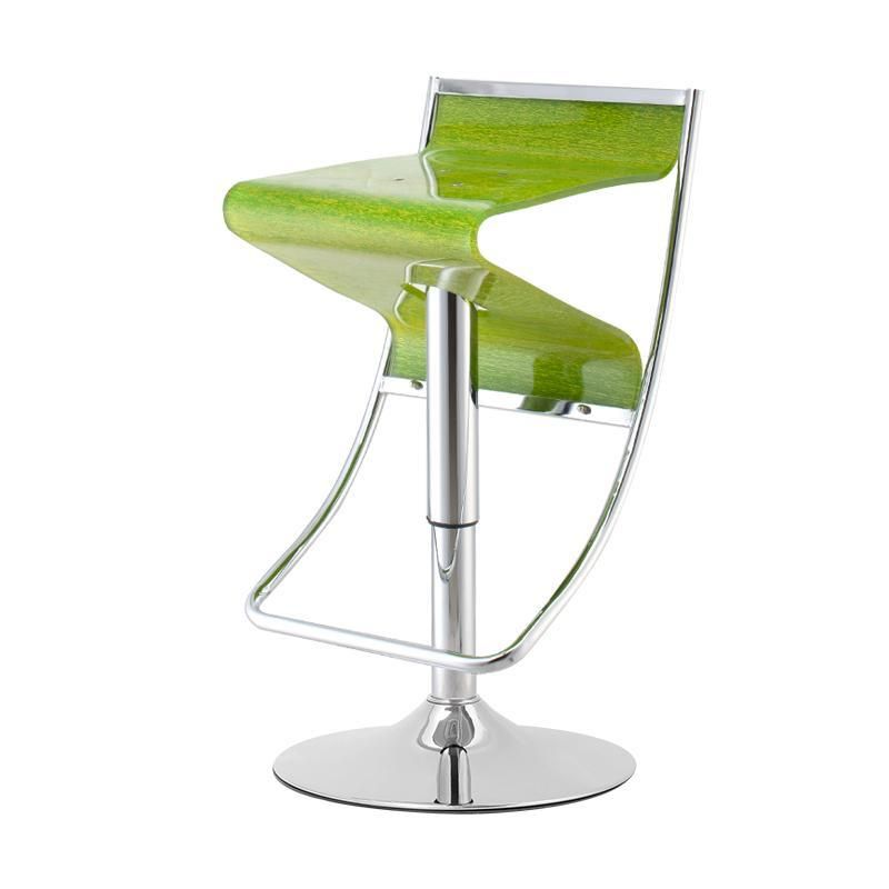 European style bar chair living room coffe stool red green Acrylic seat retail and wholesale free shipping