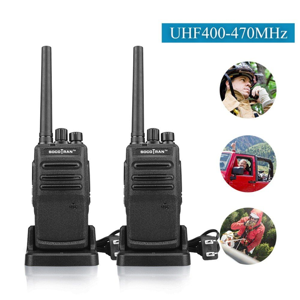TO Russian SC-308 3W handheld two way radio UHF 400-470MHz 16 channel walkie talkie portable transceiver Fast Charge
