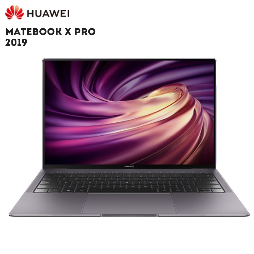 Original HUAWEI MateBook X Pro 2019 Laptop Windows 10 Intel Core I5 8265U i7 8565U 8 GB RAM 512 GB SSD PC Fingerprint